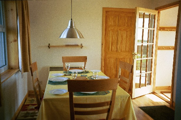 Holm View, Papa Westray - dining room