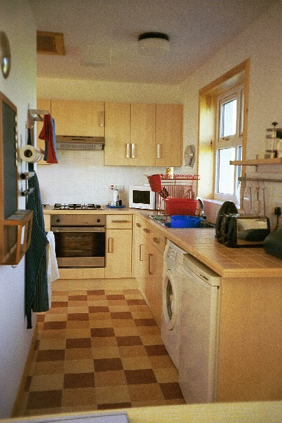 Holm View, Papa Westray - kitchen