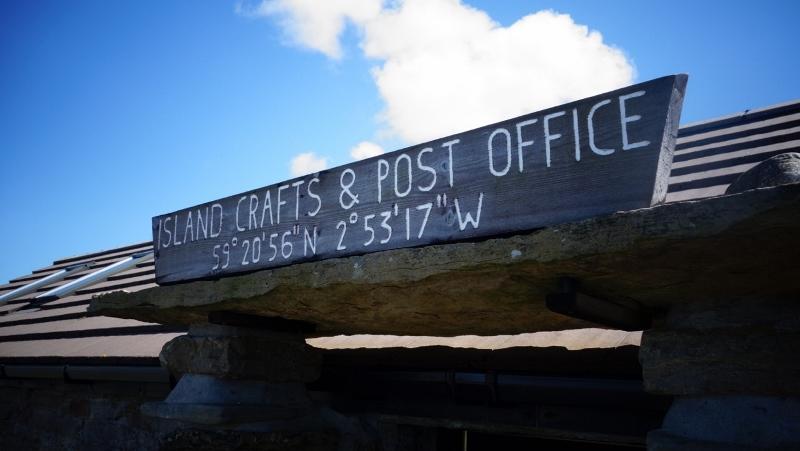 Post Office at Daybreak, Papa Westray