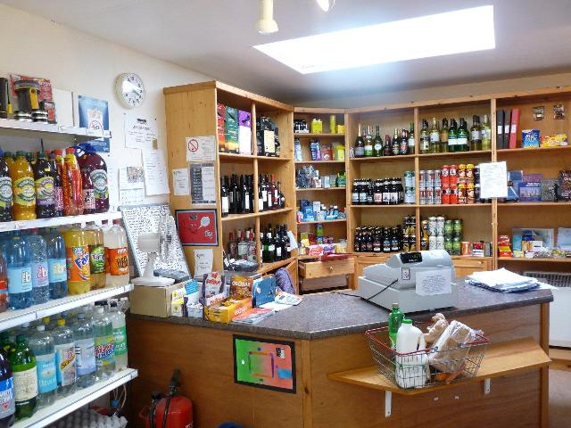 Wines, beers and soft drinks at Papa Westray Community Shop