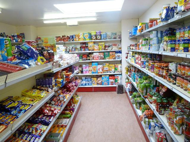 Fresh, frozen and packaged food at Papa Westray Community Shop