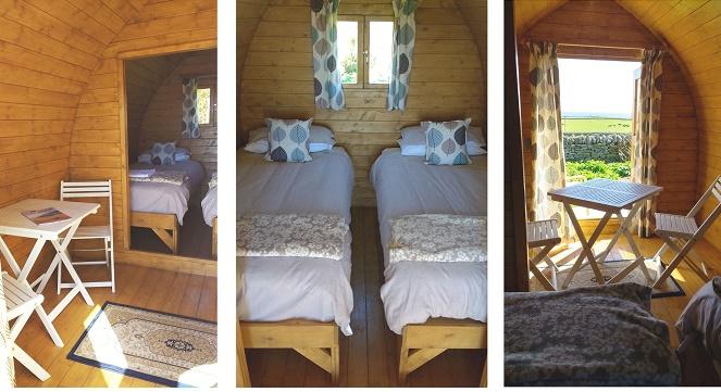 Camping Bothy - inside
