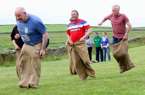 Papay Fun Weekend - Sack Race